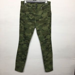 Gap Skinny Fit Camouflage Jeans